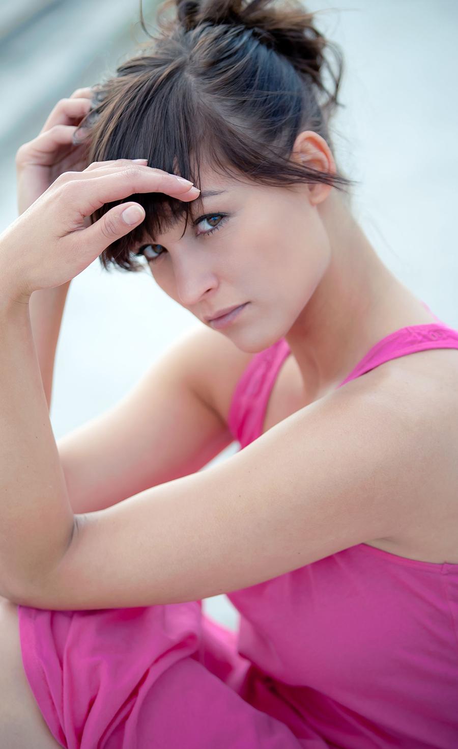 Schauspielerin Maxi Geithner Berlin Treptow Portrait fotografiert