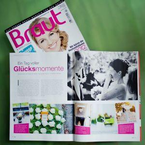 Ein Tag voller Glücksmomente! - Die Hochzeit von Susi & Tobias im aktuellen Braut & Bräutigam Magazin