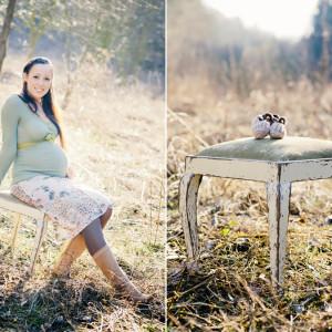 Babybauchfotos im März