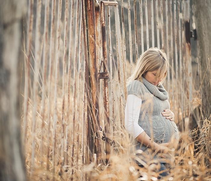 Babybauchbilder im Dezember...