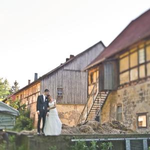 Bettina & David - Hochzeit auf Schloss Reichstädt